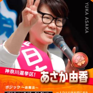 あさか由香トレーディングカード(カクサン部)