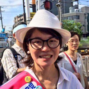 「若者への投資は、未来への種まき」7月3日のあさか由香