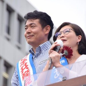 選挙10日目 志位和夫委員長と藤沢、桜木町で訴え