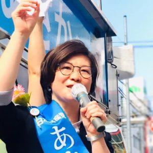 投票日まであと4日!今日は横浜駅6:30からスタート。